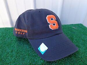 17b0e062dde Image is loading Bridgestone-Golf-Syracuse-University-Orangemen-NCAA-Golf- Hat-