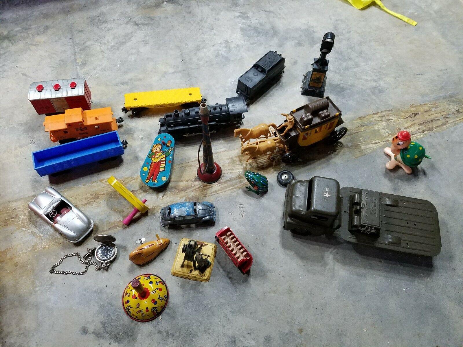 Juguetes de estaño antiguos, juguetes de acero acero acero presurizado, Marx structure, Juguetes de estaño de Japón 302