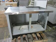 Cabinet W Stainless Steel Top Cut Out On Top 49x34x36 Need This Sold