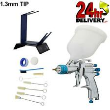 Devilbiss Slg 620 13mm Spray Gun Gravity Feed With Stand And Cleaning Kit