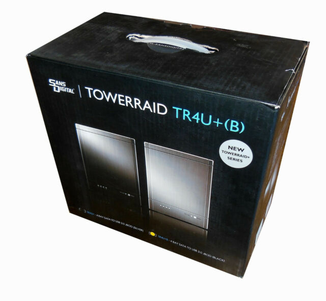 TowerRAID TR4U+ Silver 4 Bay SATA to USB 3.0 JBOD Enclosure