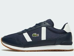 Lacoste-Partner-319-1-JD-SMA-Men-Size-UK-7-EUR-40-5-Navy-White-NEW