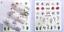 Adesivi-Unghie-Decalcomanie-Nail-Art-WATER-Decals-Stickers-Lavande-Fiori-Farfall miniatuur 14
