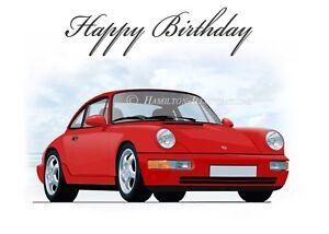 Happy birthday porsche