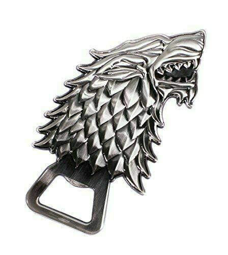 Official Game Of Thrones Stark Emblem Bottle Opener