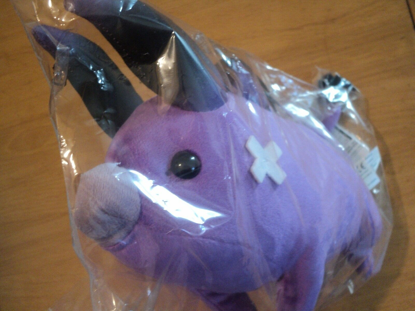 OFFICIAL FINAL FANTASY XIV 14 BABY BEHEMOTH PLUSH SOFT TOY + CODE - NEW SEALED
