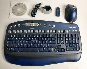 Microsoft-Wireless-Optical-Desktop-Elite-Bluetooth-Keyboard-amp-Mouse-VERY-NICE