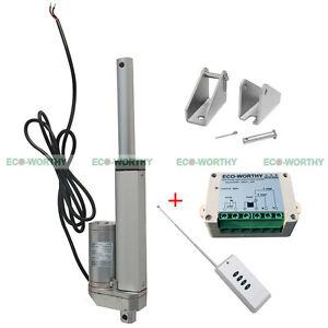 4 Dc 12v 330 Lbs Heavy Duty Linear Actuator W Wireless
