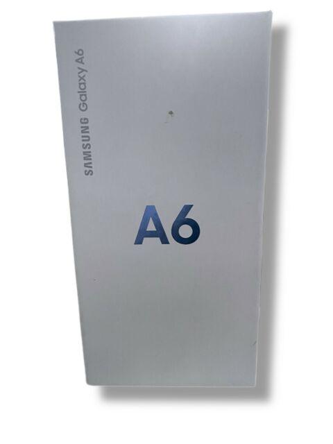 Samsung Galaxy A6 CRICKET - 32GB - Black NEW OPEN BOX