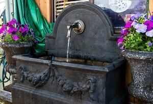 GRC-Garden-Patio-Water-Feature-Rialto-Large-Trough-Rectangle-Tap-Fountain-Black