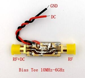 10mhz-6000mhz-6ghz-Broadband-RF-Bias-Feeder-RF-Blocker-Insulator-Bias-Tee