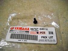 NOS OEM Yamaha Front Master Cylinder Screw 1994-2005 YZ80 TR125 YZ450 98707-0412