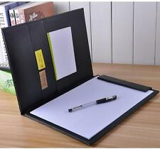 A4 Conference Folder Pu Leather Business Portfolio Organiser Case Style A