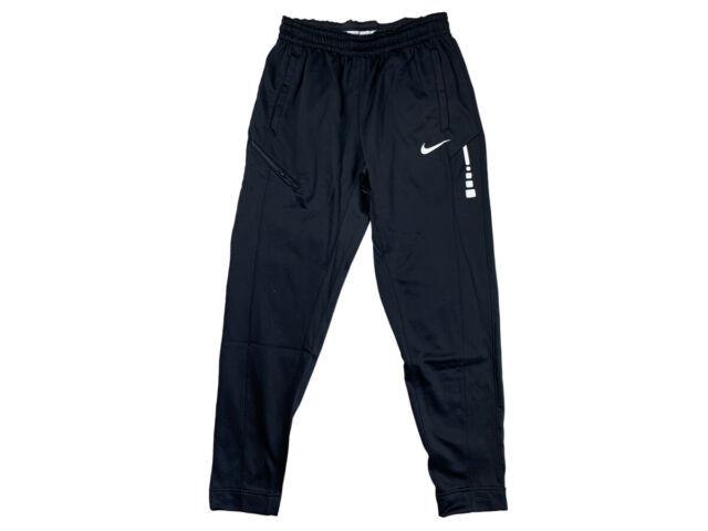 Mens Nike Air Fleece Slim Jogger Pants AQ7257 010 BlackRed NEW Size XL