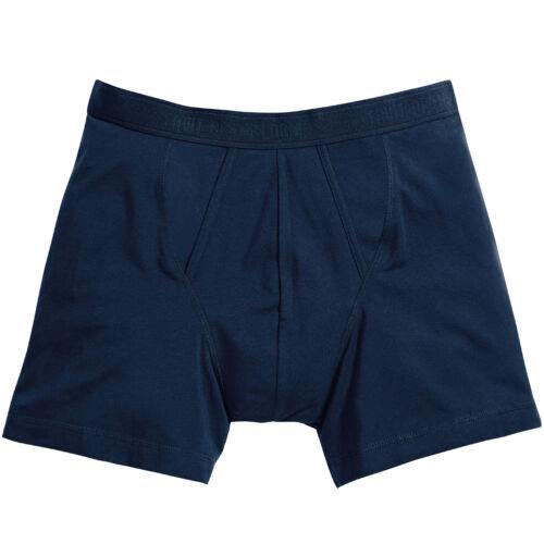 FRUIT of the Loom Classico BOXER 2-Pack-Da Uomo/'S Underwear//Pants BAULI S-2XL