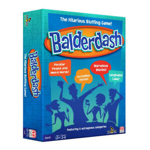 Balderdash New Edition Board Game (aka Absolute Balderdash) NEW