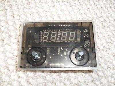 A097268 RANGEMASTER Oven Cooker 6 Button Digital Clock Timer Clear