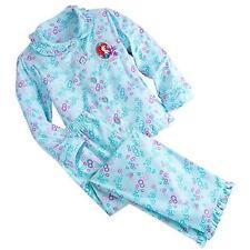 Ariel Little Mermaid Disney Princess Pajamas Gift Set for Girls Disney Size 7/8