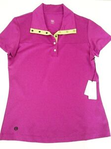 Short-Sleeve-Golf-Shirt-Deep-Rasberry-with-Lime-Green-Trim-Small