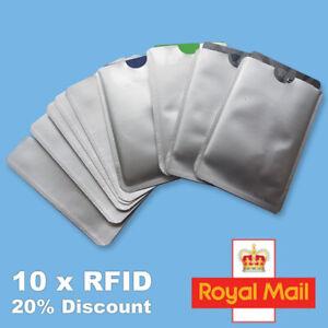 10x-RFID-Blocking-Sleeve-Credit-Card-Protector-Bank-Card-Holder-for-Wallets-UK
