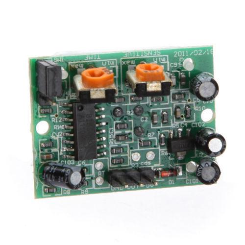 Ajuster ir pyroélectrique infrarouge mouvement PIR humain Détecteur Module puce 198