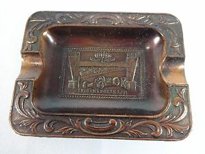 Image Is Loading Copper Indianapolis Motor Sdway Soovenir Ashtray Ims
