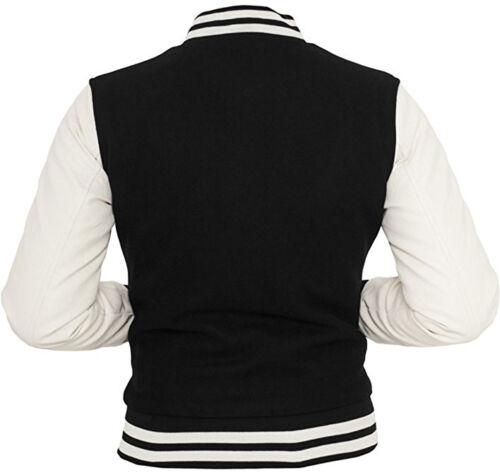college Classics donna nera donna oldschool bianca Giacca giacca Urban FEwZPqw