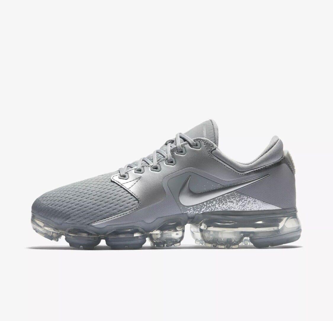 Nike Air Vapormax Wolf Grey Silver Size 6.5 Running Womens AH9045-006