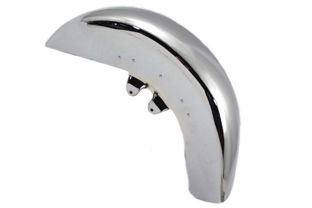 V-Twin 50-0453 Front Fender Trim Bumper Chrome