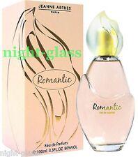 EAU DE PARFUM ROMANTIC DE JEANNE ARTHES NEUF/FRENCH PERFUME IN BOX/100 ML