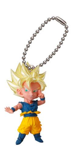Dragon Ball Super Mascot Swing PVC Keychain Figure Goku Gohan Buu Broly ND19841