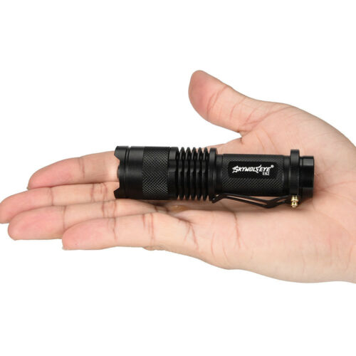 Q5 LED 4Mode 14500//AA Tactical Military Emergent Flashlight 5000LM Zoomable COB