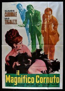 Poster-Die-Wunderschoener-Gehoernter-Volonte-Claudia-Cardinale-Tognazzi-M284