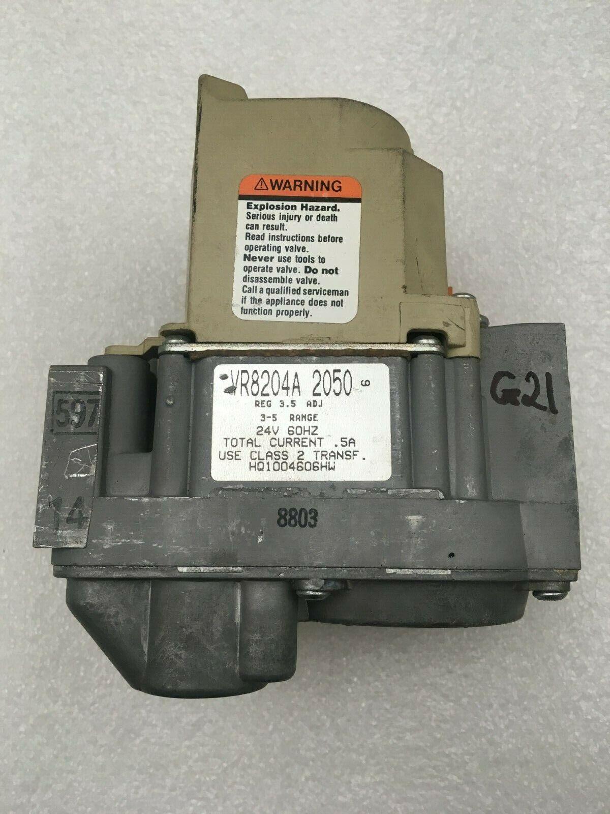 Renewed Honeywell VR8204A2076 Electronic Gas Valve