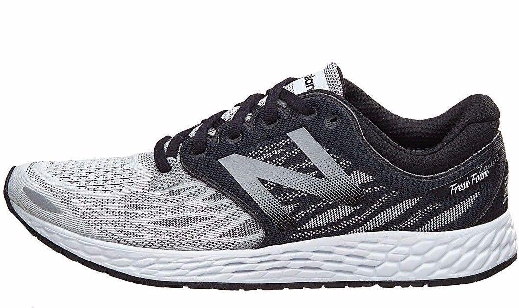 New Balance Zante V3 Fresh Foam Hombre Running Zapatos Calzado Negro gris