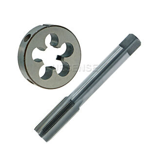 14mm-x-1-0mm-Pitch-HSS-Metric-Left-Hand-Thread-Plug-Tap-and-Die-Set-M14-x-1-0