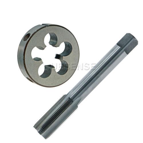 14mm x 1.0mm Pitch HSS Metric Left Hand Thread Plug Tap and Die Set  M14 x 1.0