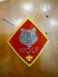 BOY SCOUTS OF AMERICA TENDERFOOT RANK OFFICIAL HIKING STAFF STICK MEDALLION NEW