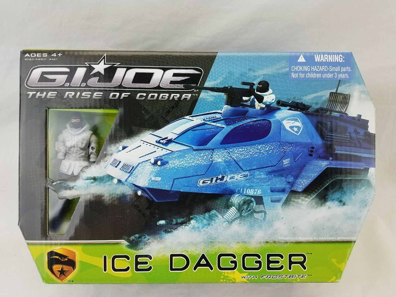 GI Joe Rise of Cobra, 2009 ICE DAGGER with Frostbite MISB