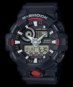 b8662d497a1 GA-700-1A Black G-shock Men s Watches Analog Digital Resin Band New ...