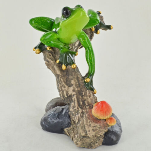 Garden Small Resin Figurine Great For Home Gift 80342 Forest Frogs Design C