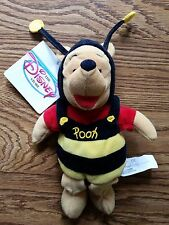 Winnie the Pooh Bear in Bumble Bee Costume Disney Store Exclusive With Tags