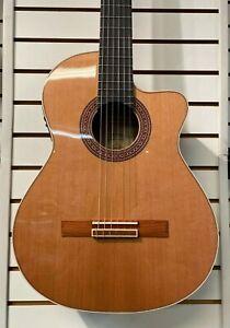 Ortega® SPAIN BW-SM2 Ben Woods Classical Acoustic-Electric Guitar DEMO