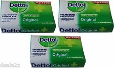 12 X 105g Dettol Anti Bacterial Bar Soap Original Formula USA SELLER FAS S&H