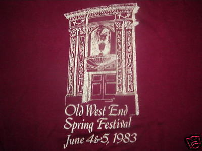 Alt West End Fest T-shirt Toledo Ohio 80's 1983 Med