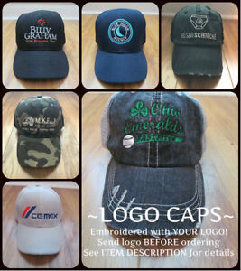Image is loading PERSONALIZED-MONOGRAM-CUSTOM-Baseball-Cap-Hat-Company- Business- a52ee2f61f2