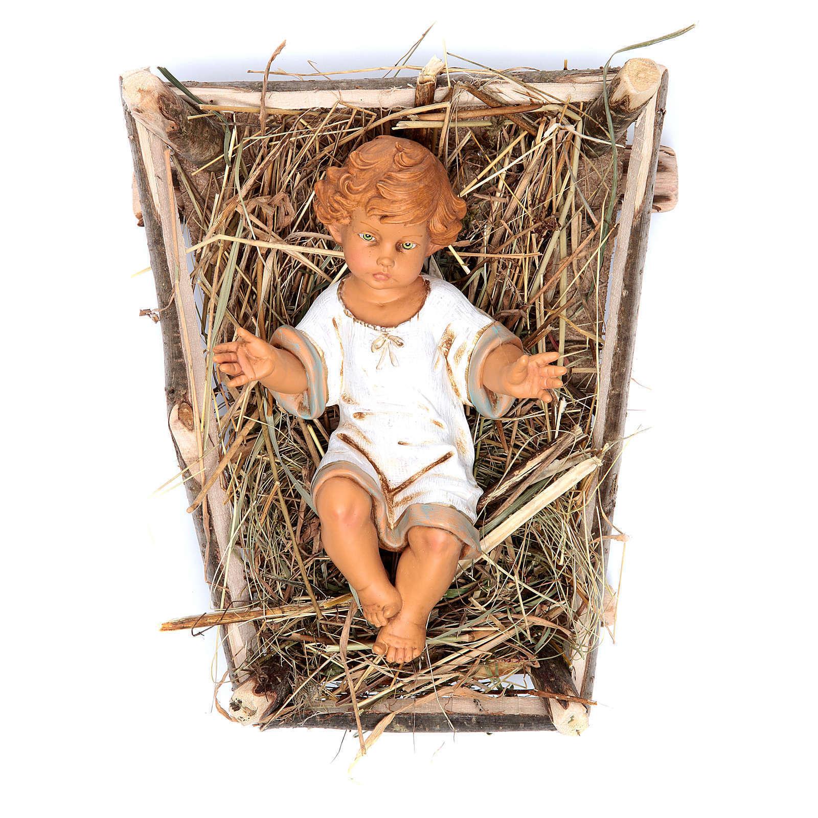 Enfant Jésus crèche noel 52 cm Fontanini