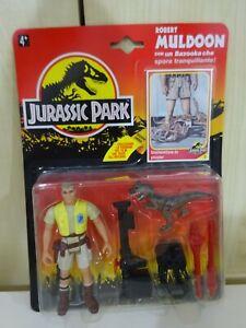 Jurassic Park Vintage Robert Muldoon Italien Rare Au Royaume-Uni Scellé Voir Photos