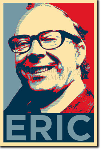 OBAMA HOPE ERIC MORECAMBE ART PHOTO PRINT POSTER GIFT AND WISE