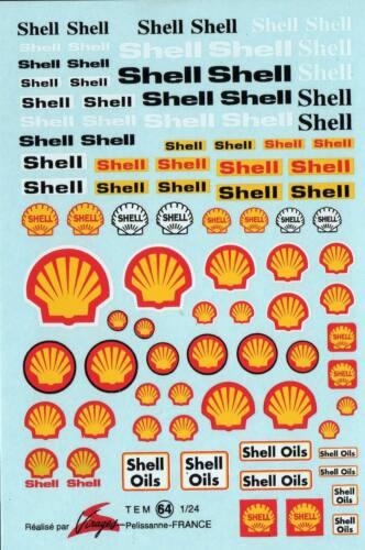 Decalbogen Shell 1:24 064